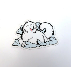 Happy Little Cloud Sticker