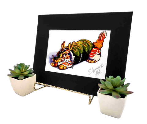 Sushi Tomodachi | Dragon Roll 8x10 Matted Print