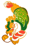 Sushi Tomodachi | Dragon Roll Hard Enamel Pin