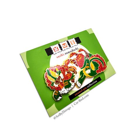 Sushi Tomodachi | Monster Roll Hard Enamel Pin