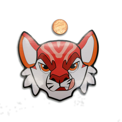 Sushi Tomodachi | Tiger Roll Head Sticker