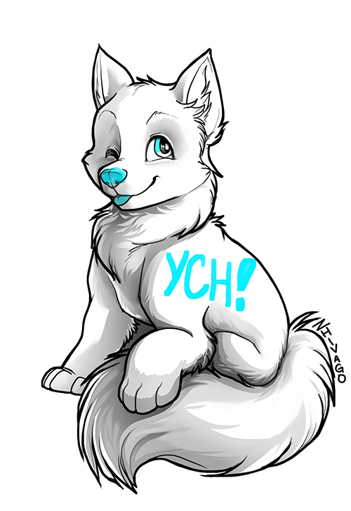 YCH Canine File with Shading