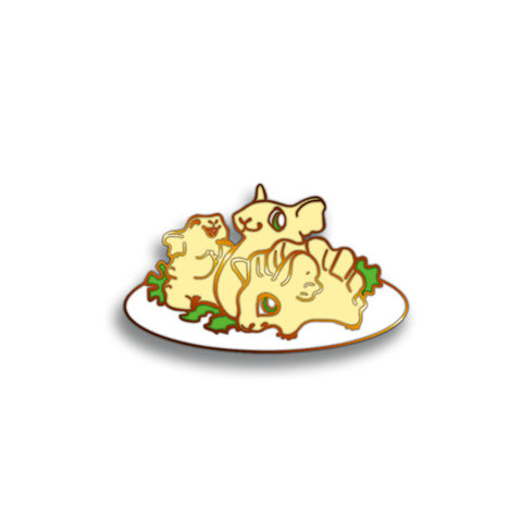 Sushi Tomodachi | Gyoza Mice Hard Enamel Pin