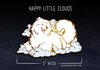 Happy Little Cloud Samoyed Pin