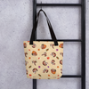 Ahi Red Panda Tote bag