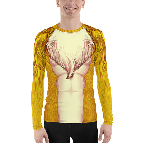 Foxy Guy Athletic Shirt in Yellow