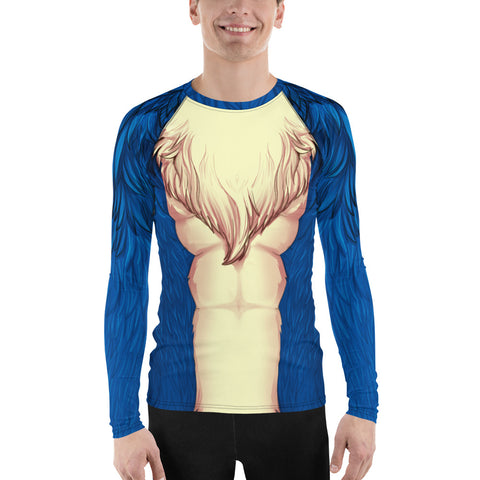 Foxy Guy Athletic Shirt in Blue