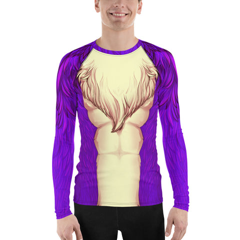 Foxy Guy Athletic Shirt in Purple