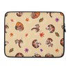 Ahi Red Panda Pumpkin Laptop Sleeve