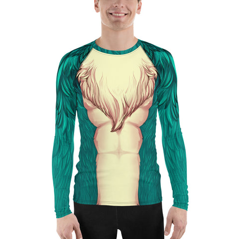 Foxy Guy Athletic Shirt in Teal