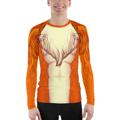 Foxy Guy Athletic Shirt in Orange