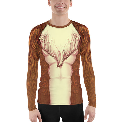 Foxy Guy Athletic Shirt in Brown