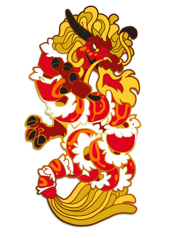 Sushi Tomodachi | Red Dragon Roll Hard Enamel Pin