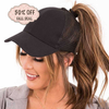 2018 Glitter Ponytail Baseball Cap for Women