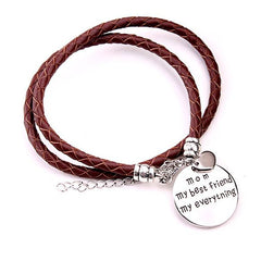 Gift for Mom: My Bestfriend My Everything Bracelet