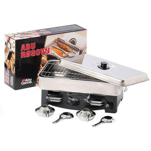 Abu Garcia 2 Burner Stainless Steel Smoker