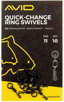 Avid Carp Quick-Change Ring Swivels