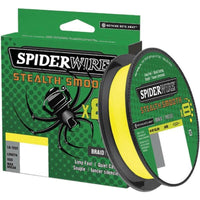 Spiderwire Stealth Smooth 8 Yellow Braid