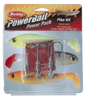 Berkley Powerbait Mullet Shad Pike Pack