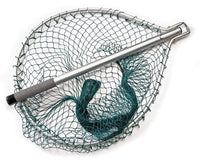 Mclean Silver Hinged Handle Wading Net