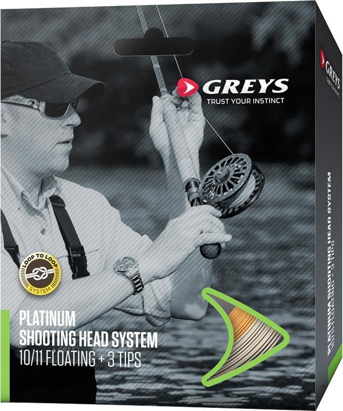 Greys Platinum Shooting Head & Tips Spey Fly Line