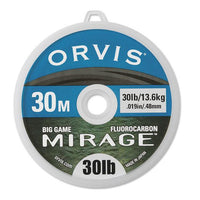 Orvis Mirage Fluorocarbon Tippet Leader 30m