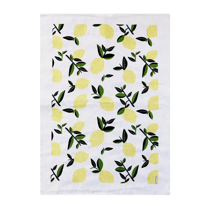 Tea Towel: Citrus Lemon
