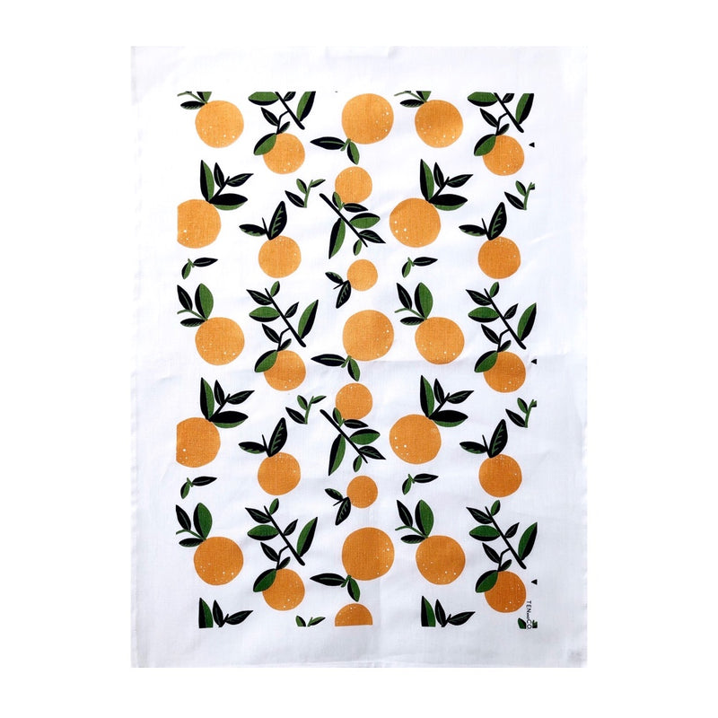 Citrus Orange Tea Towel