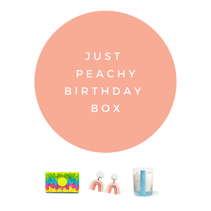 Just Peachy Birthday
