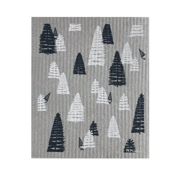 Grey Woods Swedish Sponge Cloth