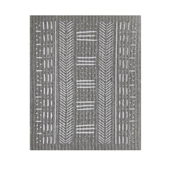 Sponge Cloth: Grey Mudcloth