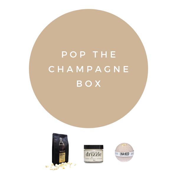 Pop the Champagne Box