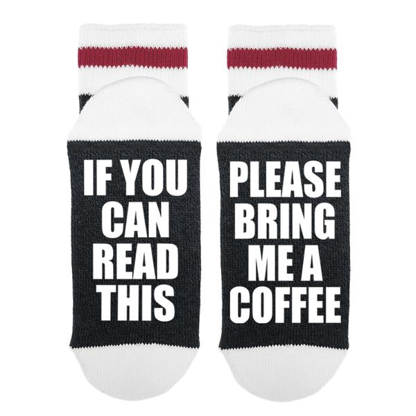 Please Bring Me Coffee Socks