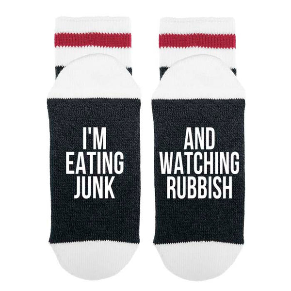 Eating Junk & Watching Rubbish Socks