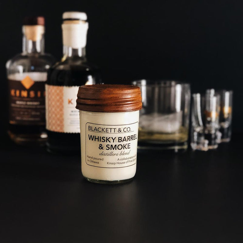 Whisky & Smoke Candle