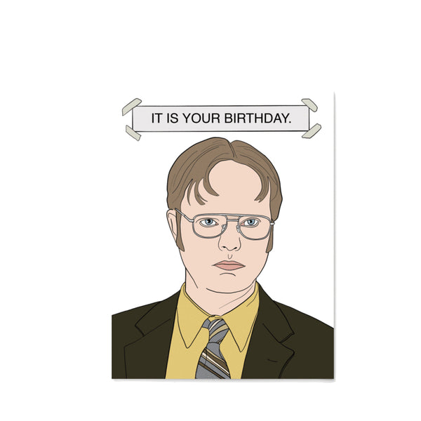 Dwight Birthday
