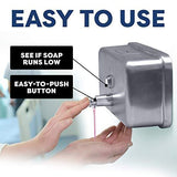 Commercial Wall soap Dispenser Mounted for Bathroom Mount Hand Commercial refillable sanitizer Highest Stainless Steel Grade 304