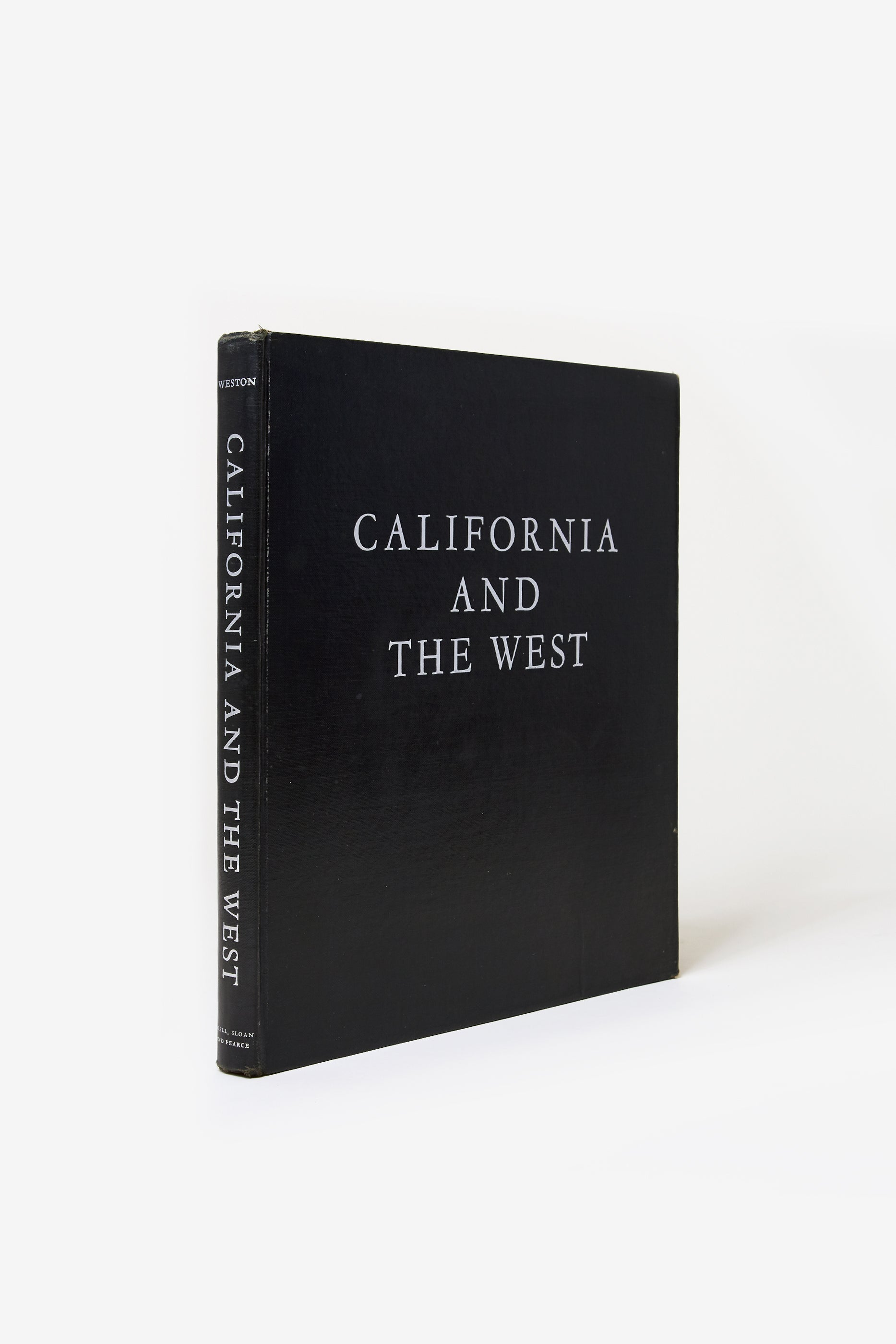 California and the West / Edward Weston &  Charis Wilson / 1940 / 1st hc