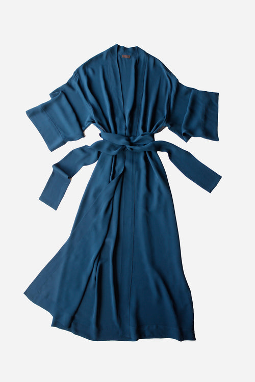 Asteria Long Liberty Kimono Style Dressing Gown