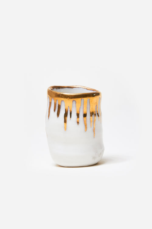 Small Gold Drip Shot Glass Set