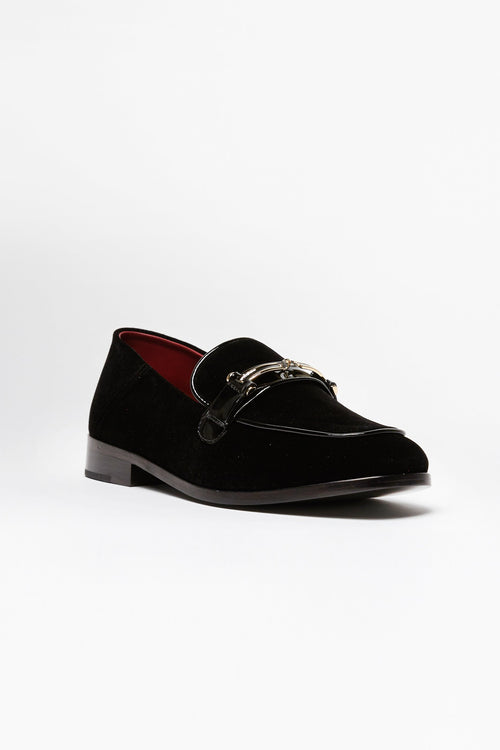 Black Melanie Loafer