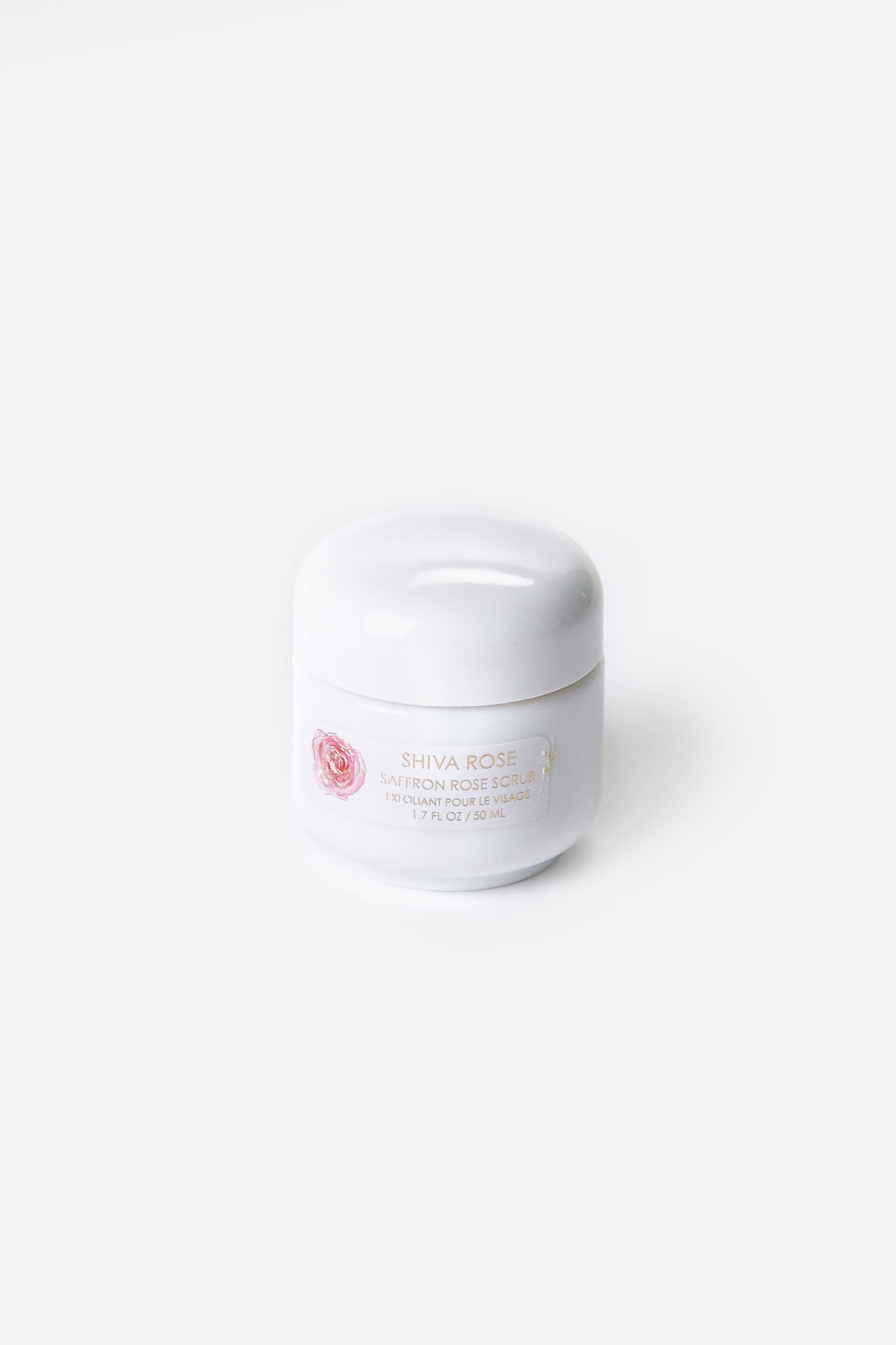 Safron Rose Facial Scrub