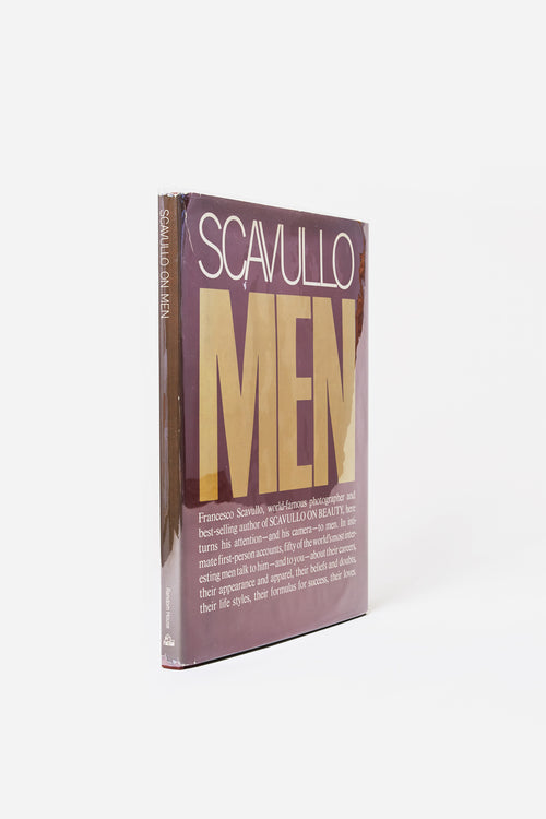 Scavullo Men / Francesco Scavullo/ 1977 1st