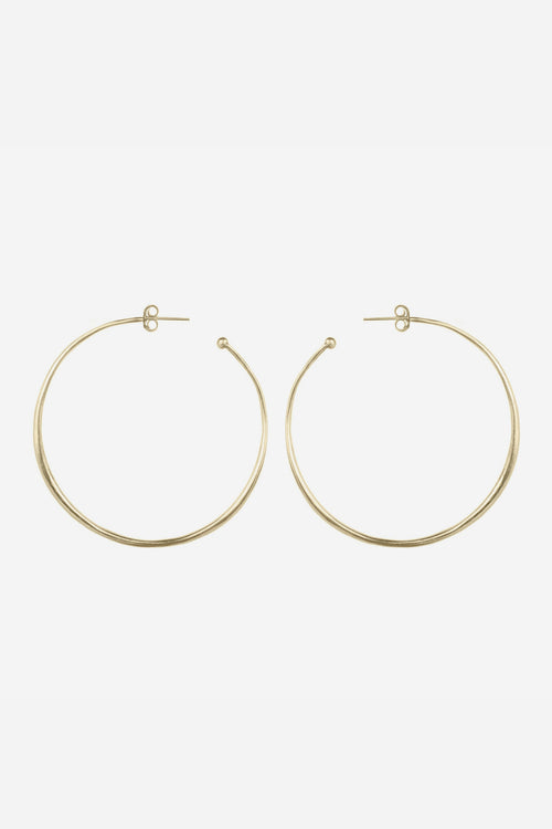 Thin Rounded Hoops