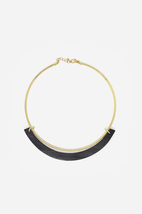The Ebony Collar Necklace