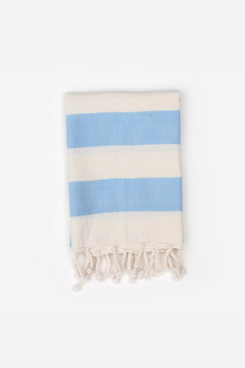 Sky Striped Hand Towel