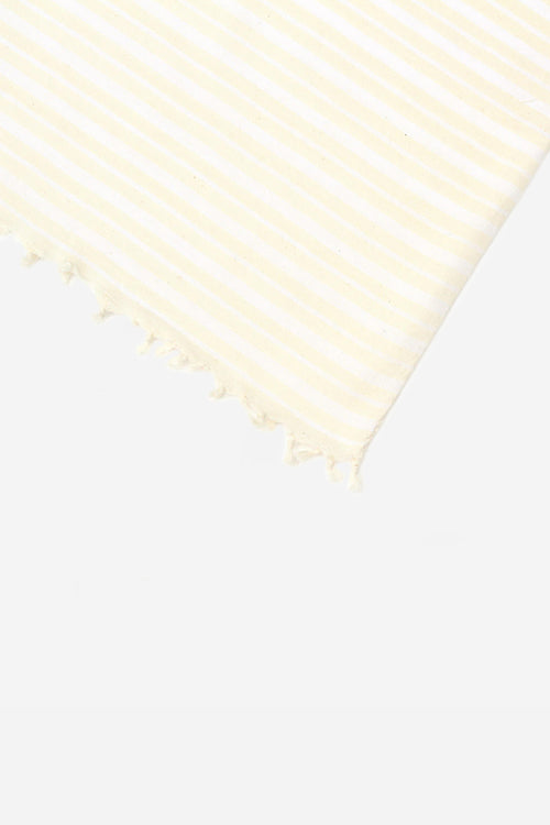 Blanc Woven Tablecloth