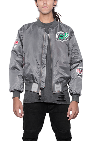 "MA-1 ""DOMINATE"" Flight Bomber Jacket"