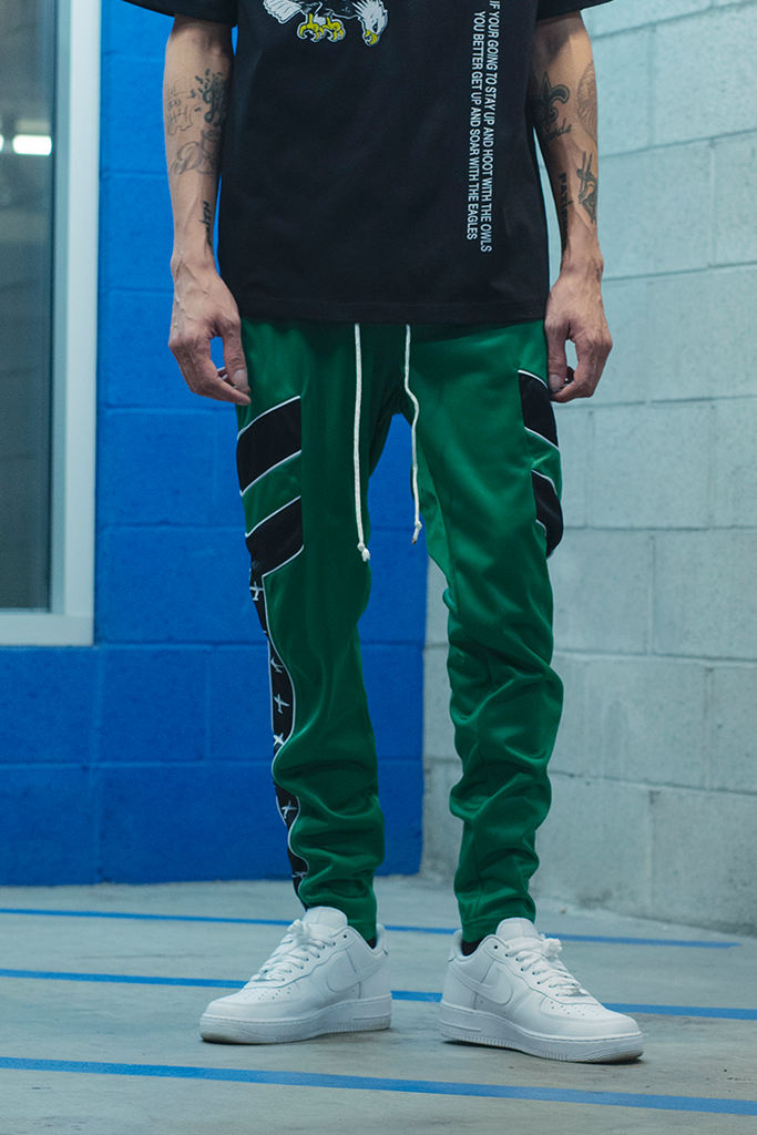 Vacation Regular Track Pants (Green)