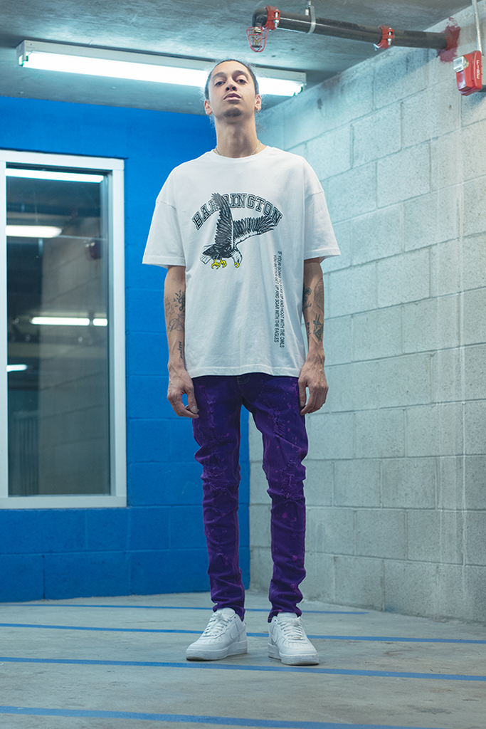 Vacation Drotcrotch Jeans (Purple)